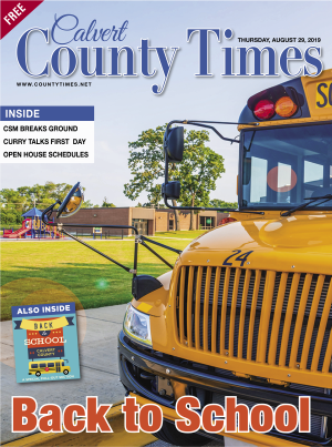 The Calvert County Times Newspaper, Published on 2019-08-29
